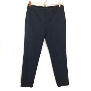 Zara woman navy blue slim ankle dress pants M
